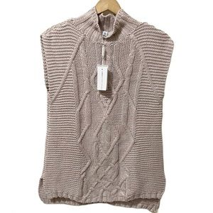 Cotton by Autumn Cashmere Knit Sweater Top NWT!